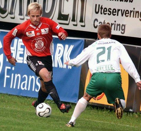 PLAYMAKER: Amund Sørumshagen har skrevet under en toårskontrakt med Ull/Kisa. Midtbanespilleren kommer fra Gjøvik-Lyn. FOTO: OPPLAND ARBEIDERBLAD