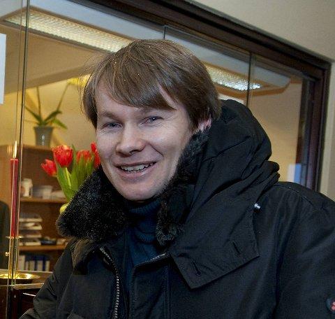 Ole Klemsdal, informasjonssjef i Beerenberg.