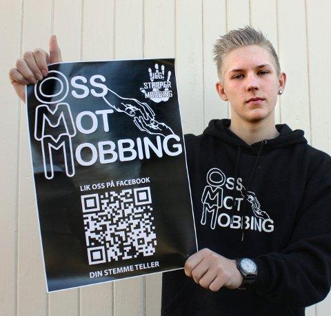 FULL JOBB: Oss mot mobbing er blitt heltidsbeskjeftigelse for Kristian Sætre.