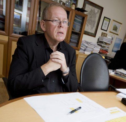 Ordfører Per-Kristian Dahl (Ap) tar tilbakegangen med fatning og mener oppslutningen er et godt utgangspunkt .