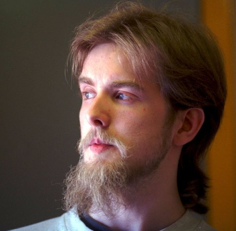 """Varg """"Greven"""" Vikernes. Dette bildet ble tatt i januar 1999."""