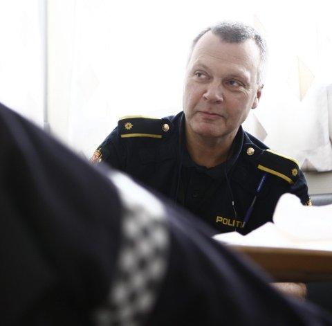 - Et ran mot en 14-åring hvor det er brukt vold er en veldig alvorlig sak, sier fungerende kriminalsjef Jon Petter Frimann. Arkiv.