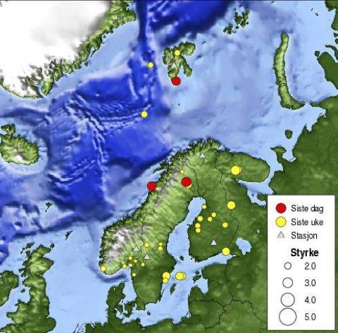 Avisa Nordland Jordskjelv I Melfjorden