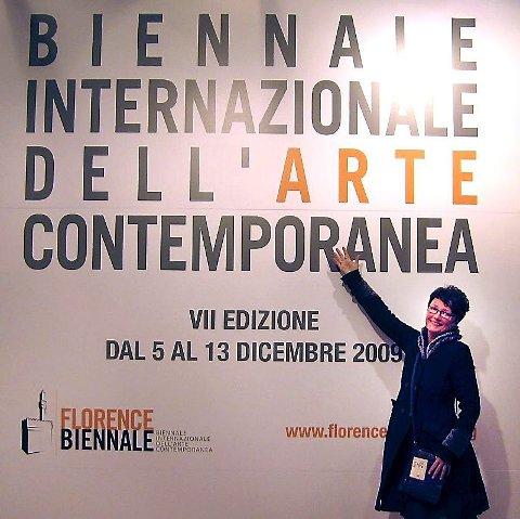 STOR OPPLEVELSE: ? Å delta på biennalen er min største opplevelse så langt i kunstkarrieren, sier Marit Skog.