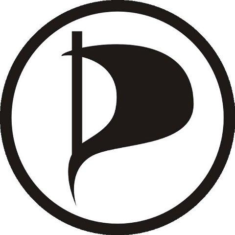 Logoen til Det svenske Piratpartiet (PP).