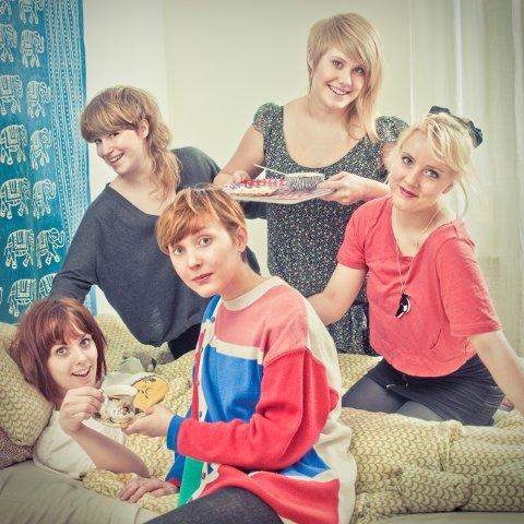 De svenske jentene i bandet Skilla