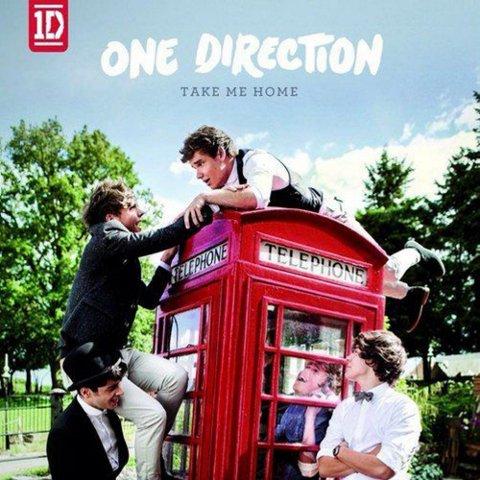 ONE DIRECTION: «Take Me Home» (Sony) 13 spor, spilletid: 42.24