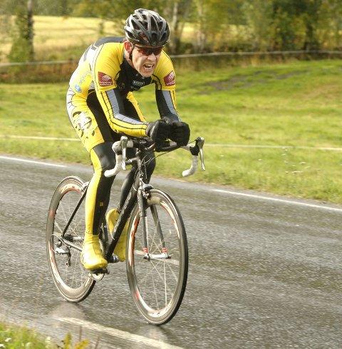 SIVILIST: . Tor Arne Bonsaksen, Mosjøen ble nummer to og beste sivilist i PM sykkel tempo.