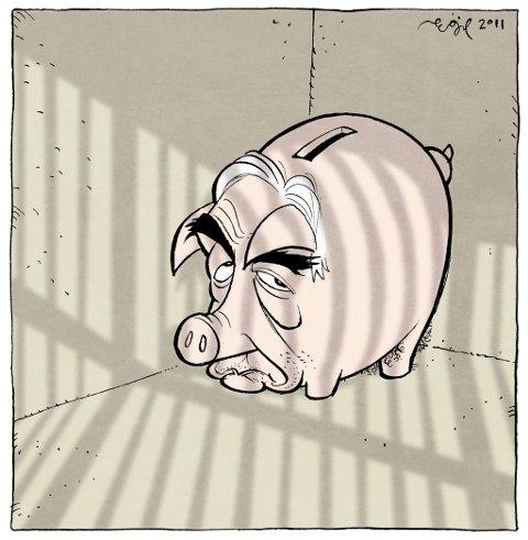 VINNERTEGNING: Dominique Strauss-Kahn.