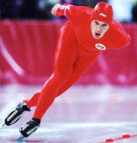 3 x GULL: Johan Olav Koss vant tre OL-gull på Lillehammer i 1994. FOTO: SCANPIX