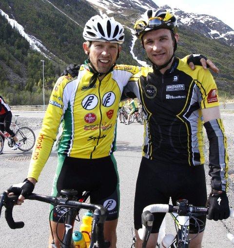 SAMARBEID: Godt samarbeid mellom Trond Seivåg (t.v.) og Erik Nordstoga holdt til mål.