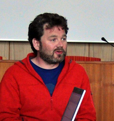 Christian  Størmer  er glad for at Kongstinden-området snart kan utnyttes bedre enn hittil.