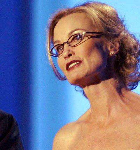 FILMSTJERNE: Jessica Lange står på gjestelista til galleriet.