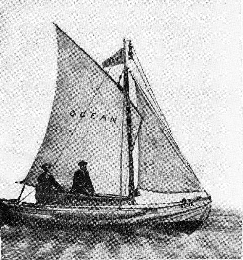 I 1886 seilte Magnus Andersen og en kamerat over Atlanteren i ei åpen sjekte.