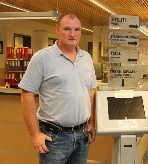 OPPGITT: Politioverbetjent Reidar Skjønsfjell er oppgitt over mangelen på varetektsplasser ved norske fengsler.