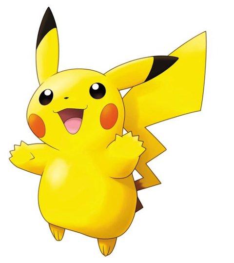 ENERGIBUNT: Pikachu er like energisk som alltid. Selv ble jeg overrasket da «auradingseleseren» i spillet mente at jeg lignet mest av alt.