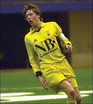 Foruten innflytterne Ludvigsen, Hanssen og Olsen, har ikke Glimt selv dyrket frem egne landslagsspillere på flere år. Nå kan Andreas Aakre (14) bli den neste.