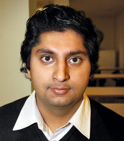 IKKE OVERRASKET: Mani Hussaini, FpU.