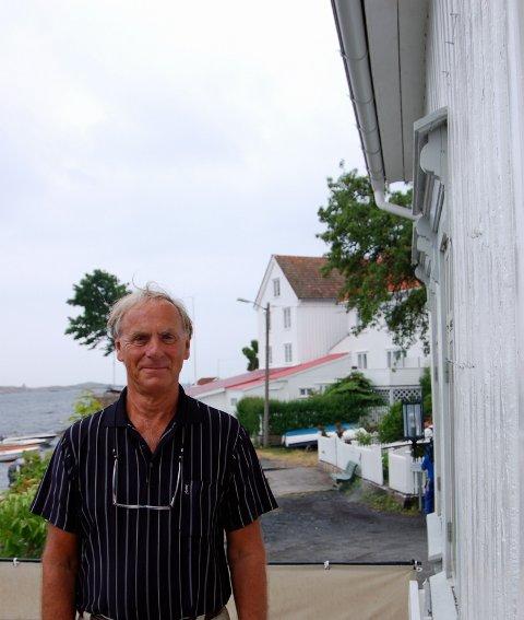Jan Høglund er leder i Verneforeningen og hevder at de ikke har som hensikt å verne byen i hjel, slik han tror mange mener om dem.