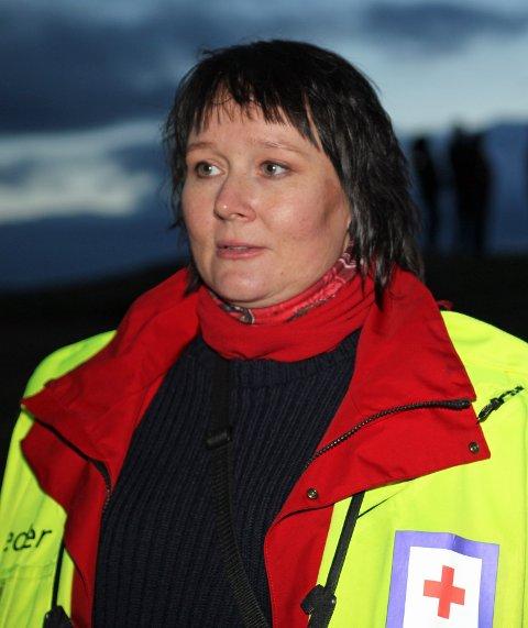 Operativ leder, Ann Ellen Karlsen, i Tromsø Røde Kors.