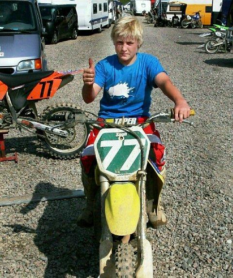 VANT: Ole Martin Sagli (14) vant kretscup-runden på Korperud i helga.BILDER: TERJE SUNDBY