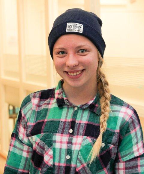 Portrett: Martine går førsteåret på idrettslinjen, men får fortsatt tid til å trene mye på fritiden.