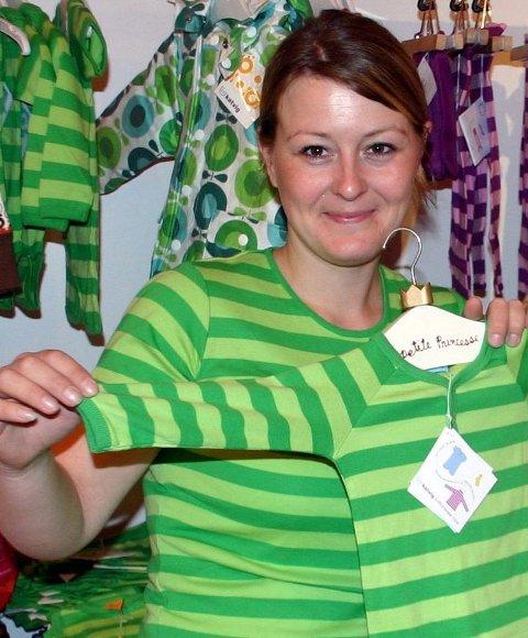 I STIL: Linda Nordli (29) med matchende klær til mor og barn fra sin butikk Luca på Strømmen.