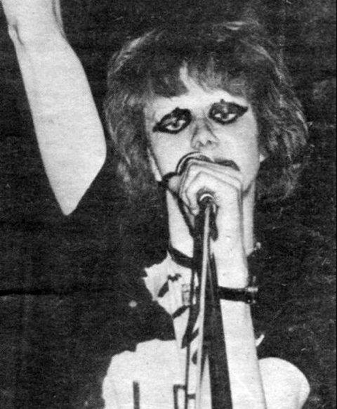 Den gang da. Per Solvang var med under NM i rock i Bodø i 1980.
