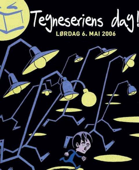 Tegneseriens dag markeres med mye moro mange steder rundt om i landet.