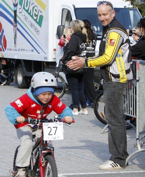 FORNØYD:  Stig Pedersen heier fram rytterne og rittlederen var fornøyd med arrangementet.