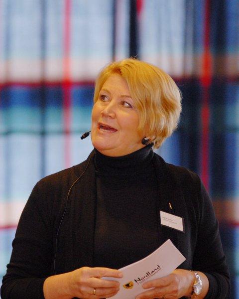 Fylkesråd for kultur, miljø og folkehelse, Hild-Marit Olsen, var en av innlederne tirsdag.