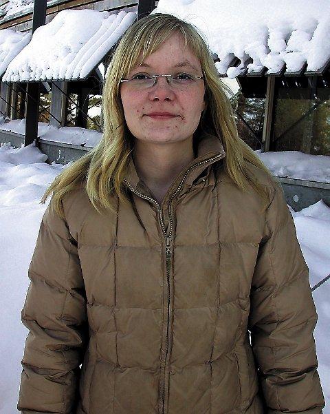 KOM INN: Kirsten Appfjell fra Majavatn er klar som fast representant på Sametinget i perioden 2005-2009. (Foto: Hanne Klemetsen, Ságat)