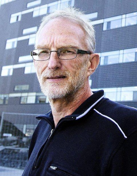 UAKSEPTABELT: Hovedverneombud Finn W. Halvorsen ved Ahus.