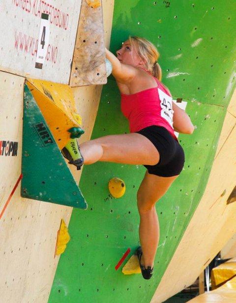 Norgescup: Norgescupen i Mandal er en av mange konkurranser Martine har deltatt på.