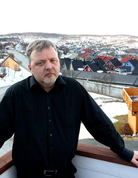 Ørjan Sandberg, Leder i Hamna bydelsråd.