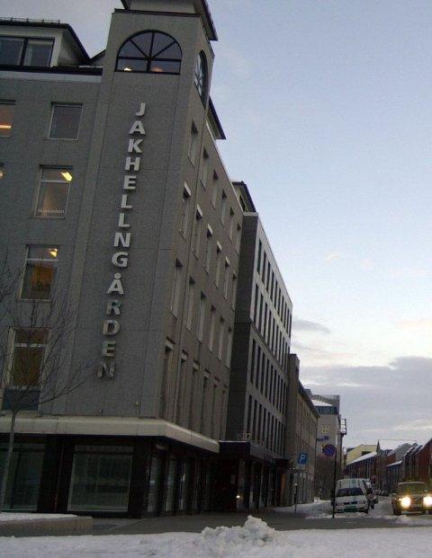 Sjøgata - jakhellngården og glasshuset