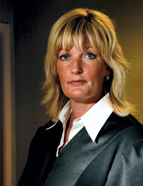 - STERKT PREGET: Bistandsadvokat Runa Kosberg.