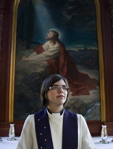 TJENER HERREN | Bettina Eckbo er veldig sterk i troen på Jesus og det han skal ha gjort.