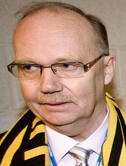 IKKE BEKYMRET: LSK-formann Per Mathisen.