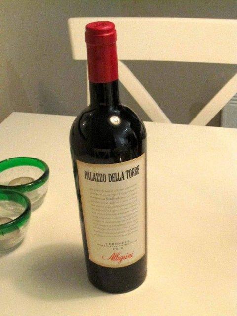 Alligrini. rødvin