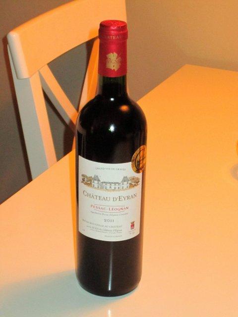 Chateaux d`Eyran. rødvin