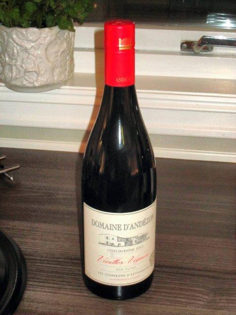 Domaine d`Andezon. Rødvin