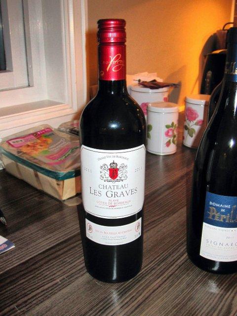 Fransk. Rødvin