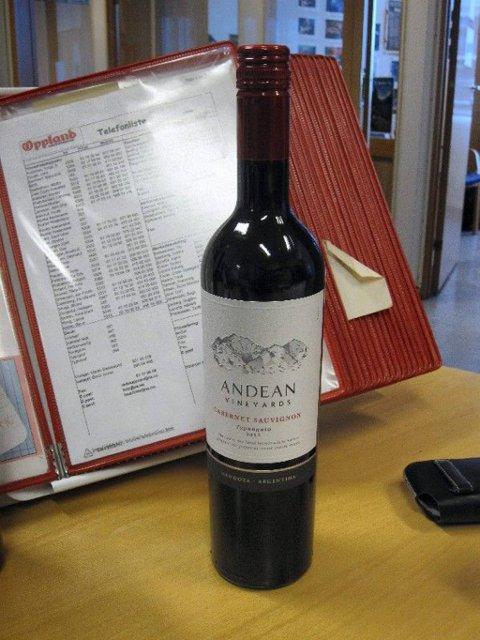 Andean. Rødvin