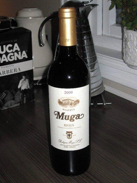 Muga. Rødvin