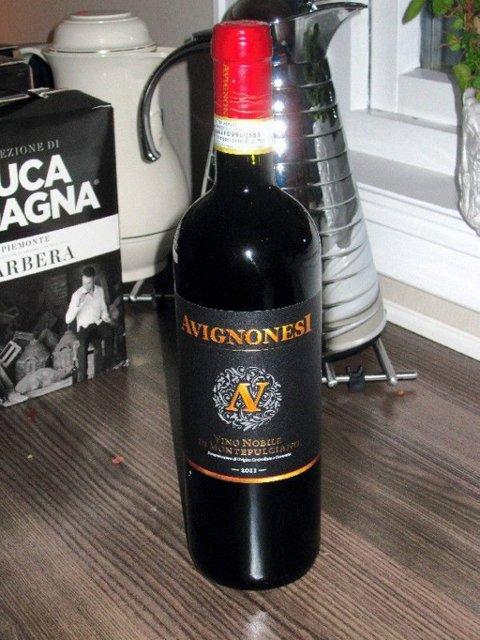 Montepulciano. Rødvin