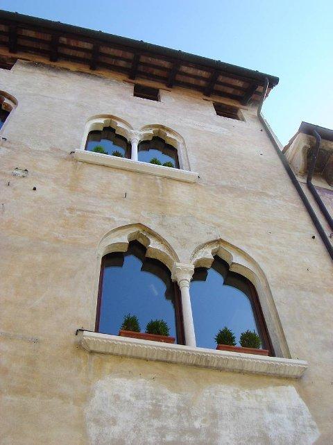 Casa Gaia i den lille byen Portobuffole i Veneto.
