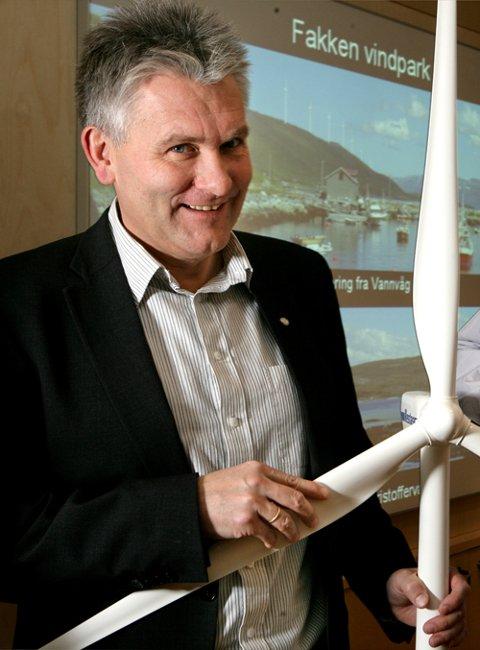 Troms Krafts direktør Oddbjørn Schei er også nestleder i Tromsø IL.
