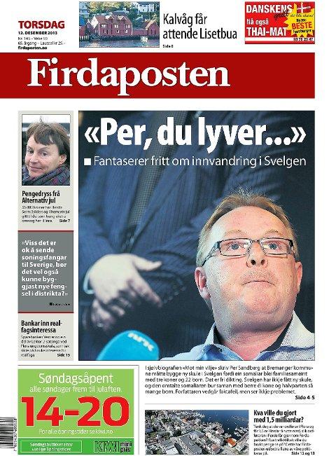 Faksimile Firdaposten torsdag 12. desember