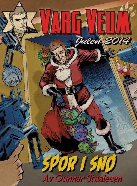 Varg Veum får ikke noen lett julenissejobb i årets julehefte som er lagt til Fana.